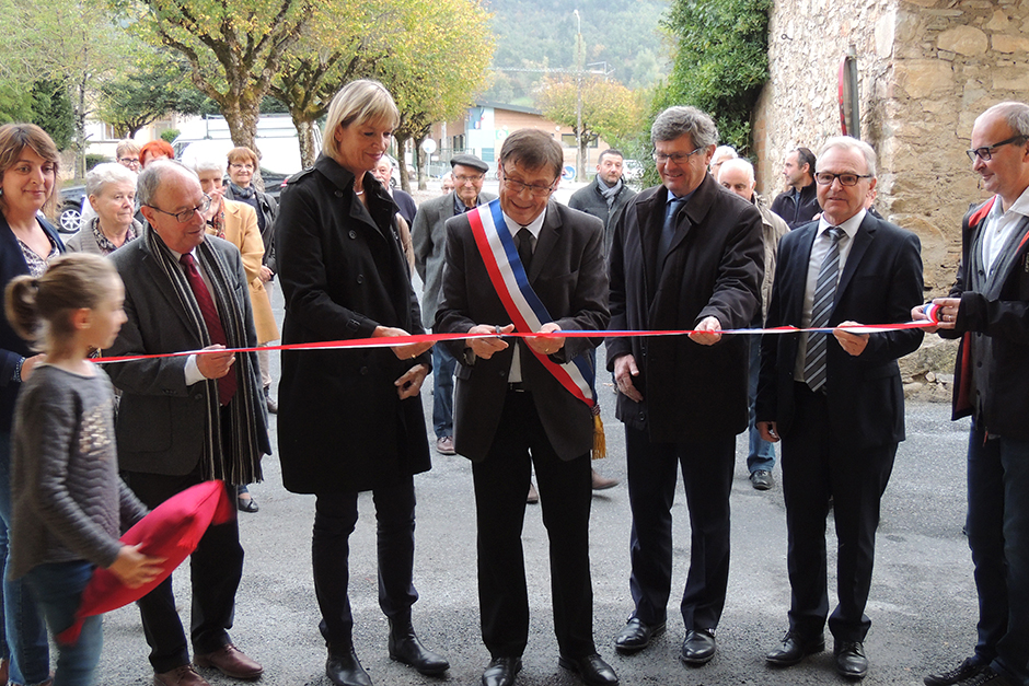 Inauguration à la Mairie de Dourgne (81)