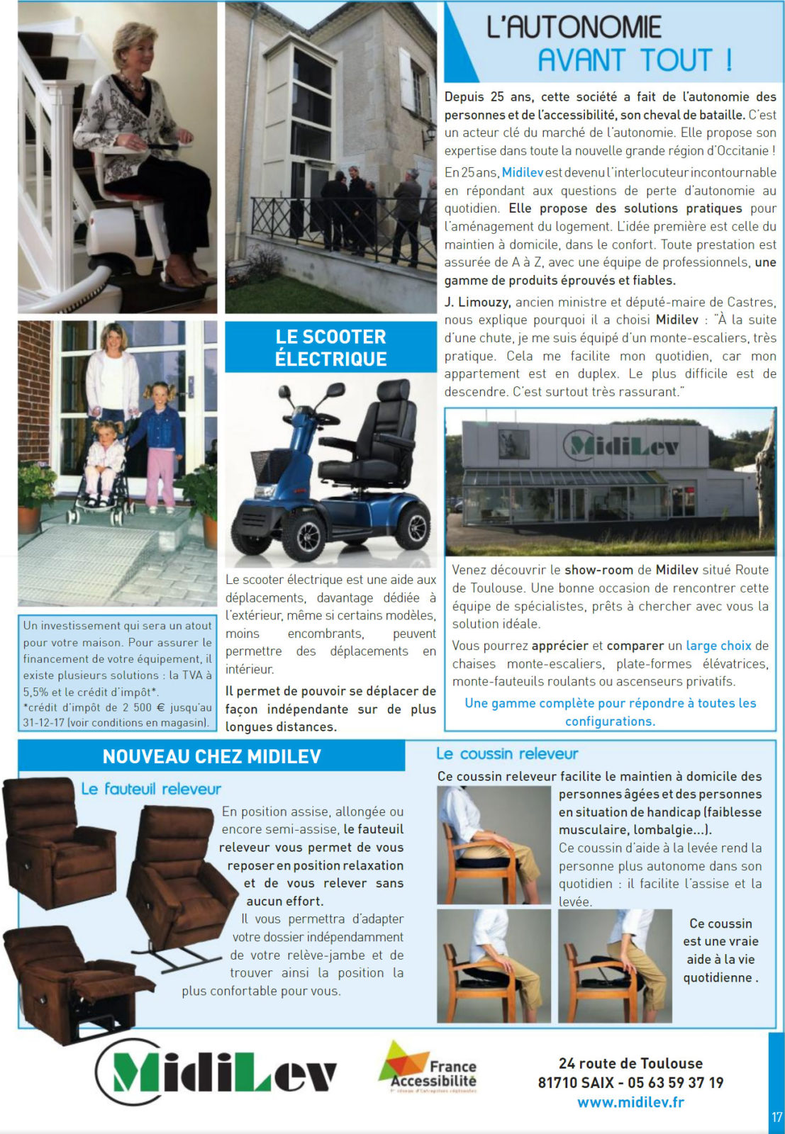 Midilev dans l'Echo Magazine !