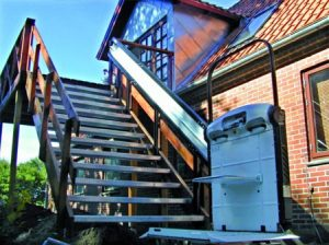 Plateforme monte-escalier 1