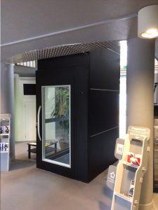 Midilev installe l'ascenseur des Maisons pour Tous de Montpellier 5