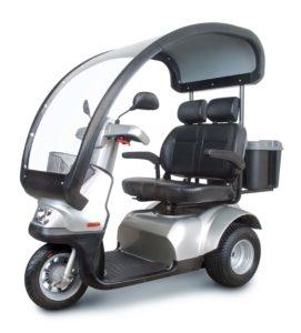 Scooter électrique Brise S4 siège double
