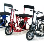 Scooters électriques pliables et démontables 1