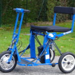Scooters électriques pliables et démontables 2