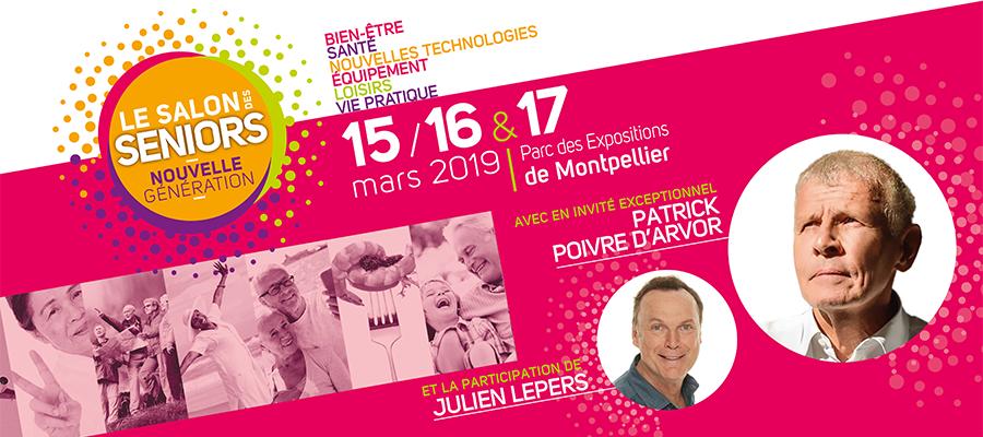 Retrouvez-nous au Salon Seniors de Montpellier ! 1