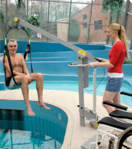 L'ascenseur pour piscines Poollift