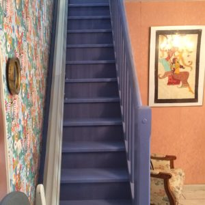 Installation dans un escalier étroit 3