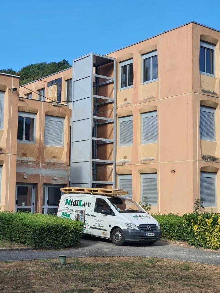 En coulisses, au collège de Marcillac-Vallon (Aveyron) 5